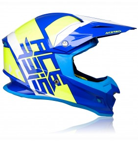 Casco Acerbis Profile 4.0 Blue / Fluo Yellow