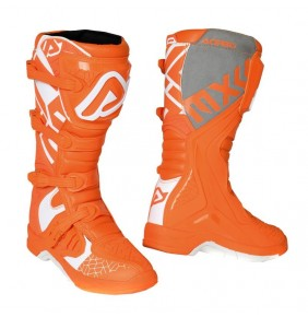 Botas Acerbis X-Team Boots Orange / White 2020