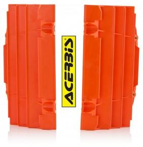 Protectores de Radiador Acerbis KTM EXC / EXC-F 2017-2019 - KTM SX / SX-F 2016-2018 Naranjas