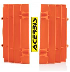 Protectores de Radiador Acerbis KTM EXC / EXC-F 2020 - KTM SX / SX-F 2019-2020 Naranjas