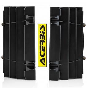 Protectores de Radiador Acerbis KTM EXC / EXC-F 2020 - KTM SX / SX-F 2019-2020 Negros
