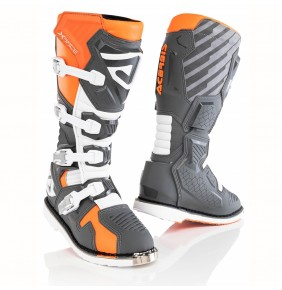 Botas Acerbis X-Race Boots Orange / Grey