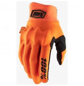 Guantes 100% Cognito Fluo Orange / Black