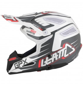 Casco Leatt GPX 5.5 Composite Black / White / Red