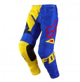 Pantalón Fox 180 Vandal Yellow Blue