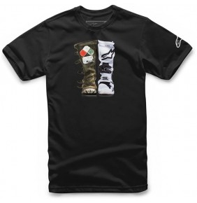 Camiseta Alpinestars Roots Tee Black