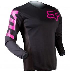 Camiseta FOX Womens Blackout Black / Pink