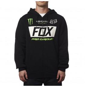 Sudadera Fox Monster Paddock Zip Limited Edition