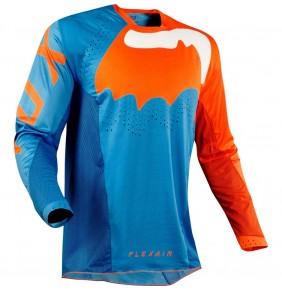 Camiseta FOX Flexair Hifeye Blue Orange 2020