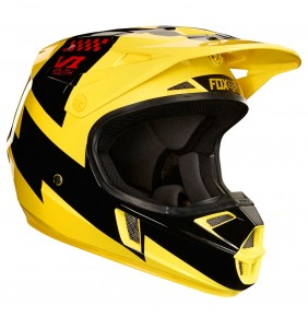 Casco Niño FOX V1 Mastar Yellow