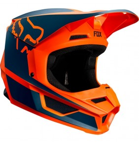 Casco Niño FOX V1 PRZM Orange