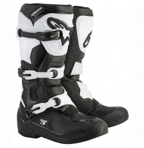 Botas Alpinestars Tech 3 Black White