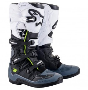 Botas Alpinestars Tech 5 Black / Dark Gray / White