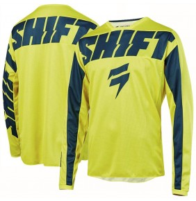 Camiseta Niño Shift WHIT3 York Yellow / Navy