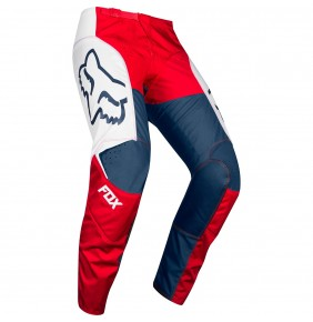 Pantalón Fox 180 Przm Navy / Red 2019