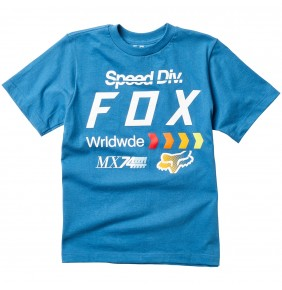 Camiseta Niño Fox Murc Tee Dust Blue