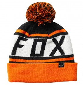 Gorro Fox Throwback Beanie Black / Orange
