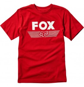 Camiseta Niño Fox Youth Aviator Tee Cardinal