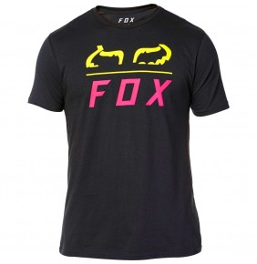 Camiseta Fox Furnace Premium Tee Black / Yellow