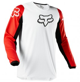 Camiseta FOX 180 Prix White / Black / Red 2020