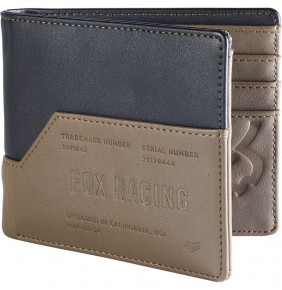 Cartera FOX The Corner Wallet Black