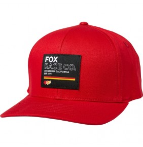 Gorra Fox Analog Flexfit Hat Chili