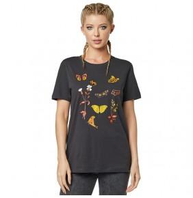 Camiseta Chica Fox Monarch Tee Black Vintage