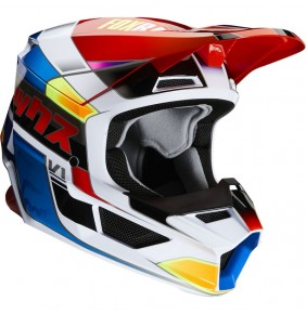Casco Niño FOX V1 Yorr Blue / Red 2020