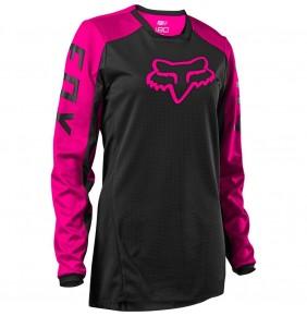 Camiseta Chica FOX 180 Djet Black / Pink