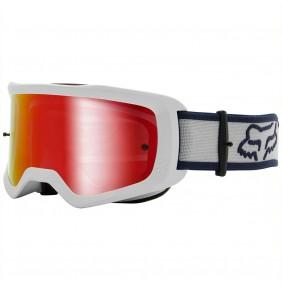 Gafas Niño FOX Main II Barren White - Mirror Red Lens