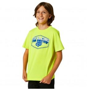Camiseta Niño Fox Youth Foundation Fluo Yellow