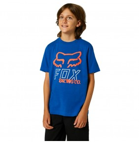 Camiseta Niño Fox Youth Hightail Royal Blue