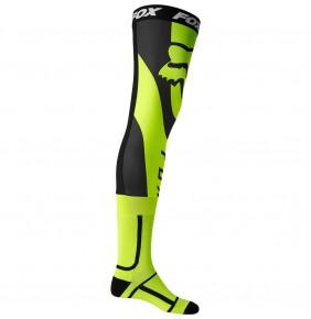 Calcetines FOX Mirer Knee Brace Sock Fluo Yellow