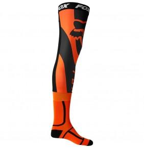 Calcetines FOX Mirer Knee Brace Sock Fluo Orange