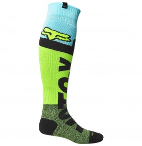 Calcetines FOX Trice Coolmax® Thick Sock Fluo Yellow