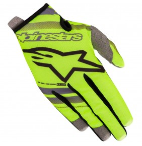 Guantes Niño Alpinestars Radar Yellow Fluo / Black