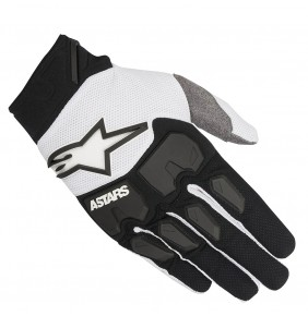 Guantes Alpinestars Racefend Black White 2018