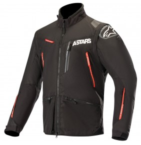 Cazadora Alpinestars Venture R Black / Red 2019