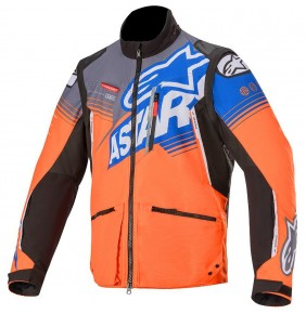 Cazadora Alpinestars Venture R Orange / Grey / Blue