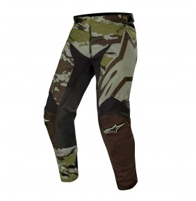 Pantalón Alpinestars Racer Tactical Black / Green Camo 2019