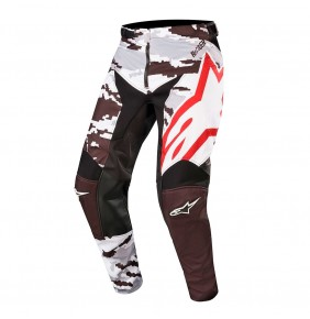 Pantalón Alpinestars Racer Tactical Black / Gray Camo / Burgundy 2019