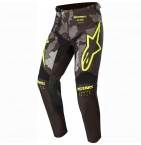 Pantalón Alpinestars Racer Tactical Black / Gray Camo / Yellow Fluo