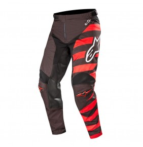 Pantalón Alpinestars Racer Braap Black / Red / White 2019