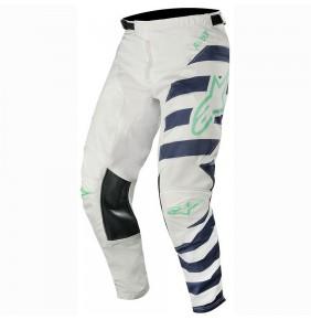 Pantalón Alpinestars Racer Braap Cool Gray / Navy / Teal