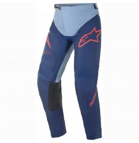 Pantalón Alpinestars Racer Braap Dark Blue / Powder Black / Bright Red 2021