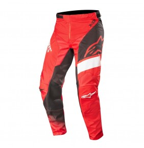 Pantalón Alpinestars Racer Supermatic Red / Black / White 2019