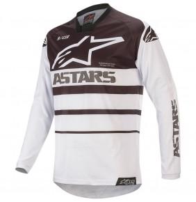Camiseta Alpinestars Racer Supermatic White / Black