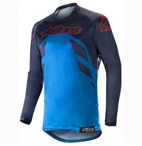 Camiseta Alpinestars Racer Tech Compass Navy / Blue / Burgundy