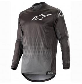 Camiseta Alpinestars Racer Graphite Black