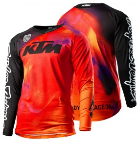 Camiseta KTM Troy Lee Designs SE Slash Orange 2020
